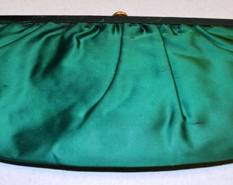 Vintage Green Party Clutch