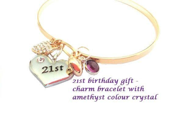 21 St Birthday 21st Gift 18th Sister Bracelet Bridesmaid Bridesmaids Jewelry