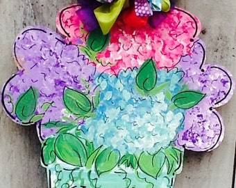 Happy spring y'all door hanger, happy spring door hanger, happy summer door hanger, summer door hanger, happy Mother's Day door hanger,