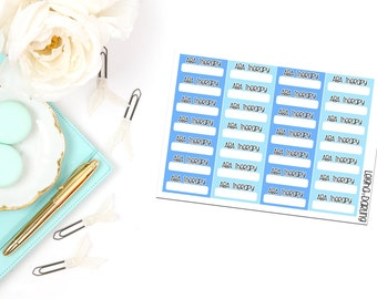 ABA Therapy Box Planner Stickers