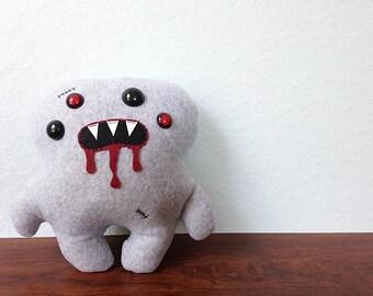Gray Zombie Juju Plush