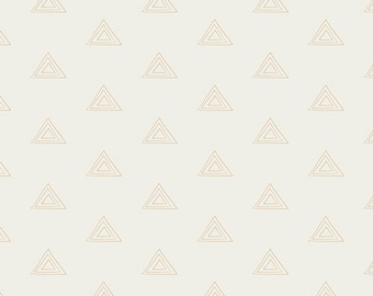 Crib Sheet- Gold and White - Metallic Gold Triangles - Tribal - Changing Pad Cover- Baby Bedding - Toddler Bedding -