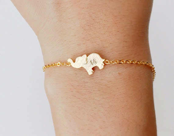 gold bracelet men jewellery elephant for