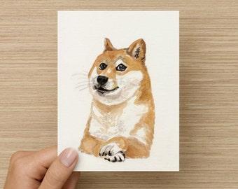 Doge Meme Card