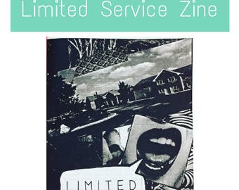 Limited Service Zine: A Humorous and Scary Perzine with Laugh Out Loud and Personal Stories About Working in a Hotel, by a Front Desk Agent