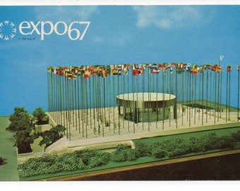 Montreal, Canada expo67 vintage postcard