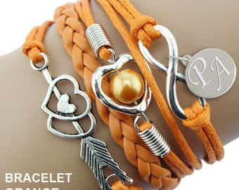 Fashion infinity €9,50 with your initials engraved BRACELET