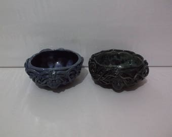 Earth Mother, Moon Goddess Offering Bowl,  Pagan, Wicca, Handcrafted Ceramic