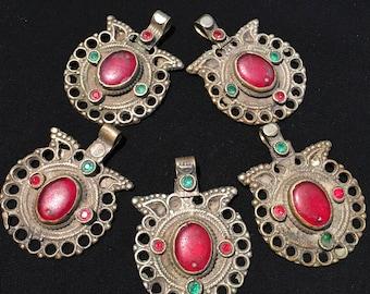 Kuchi pendant etsy vintage kuchi pendants old necklace nomadic pendant middle eastern jewellery afghan kuchi jewellery aloadofball Images