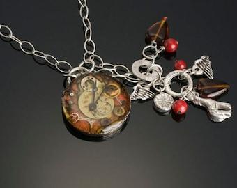 Time Flys Necklace