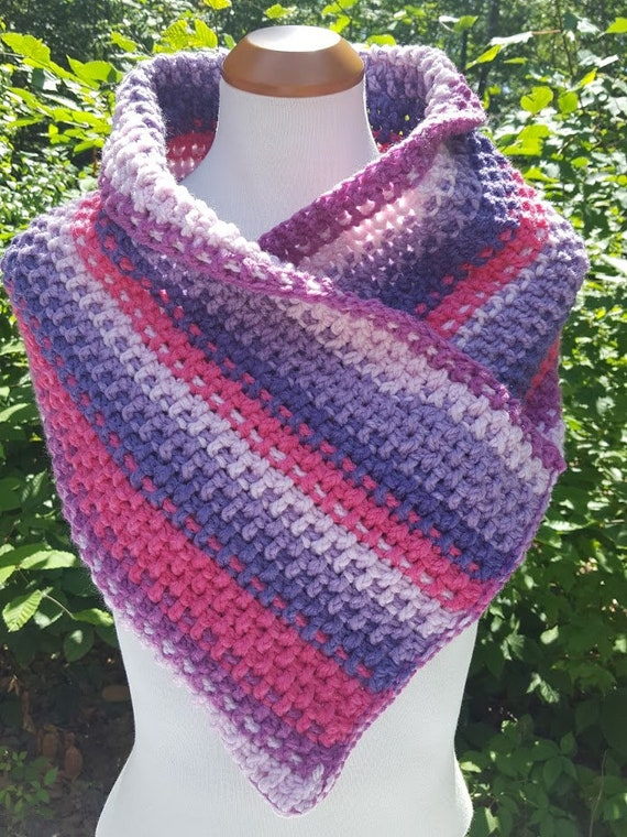 Sassy cowl, neck warmer, crochet shoulder shrug, fall fashion, winter warm scarf, back-to-school fashion