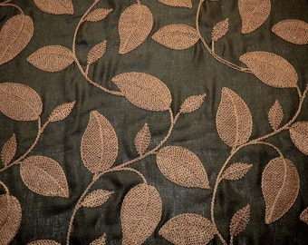 Astoria Chocolate Softline Fabric