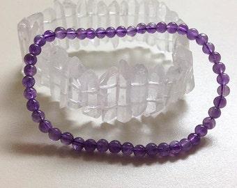 HEALING, Reiki, Meditation, Spiritual Jewelry, Amethyst Bracelet