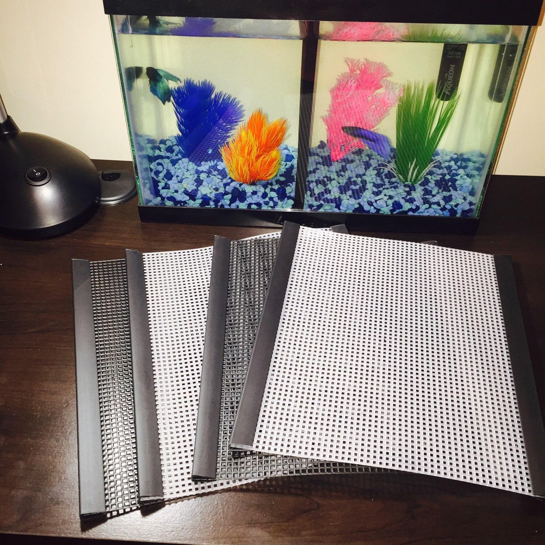 5 gallon fish tank divider