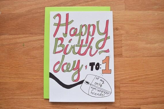 Funny birthday card best friend birthday cards for husband