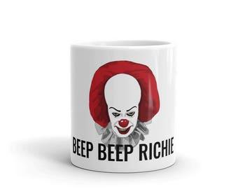 "Pennywise (1990) ""Beep Beep Richie"" Mug"