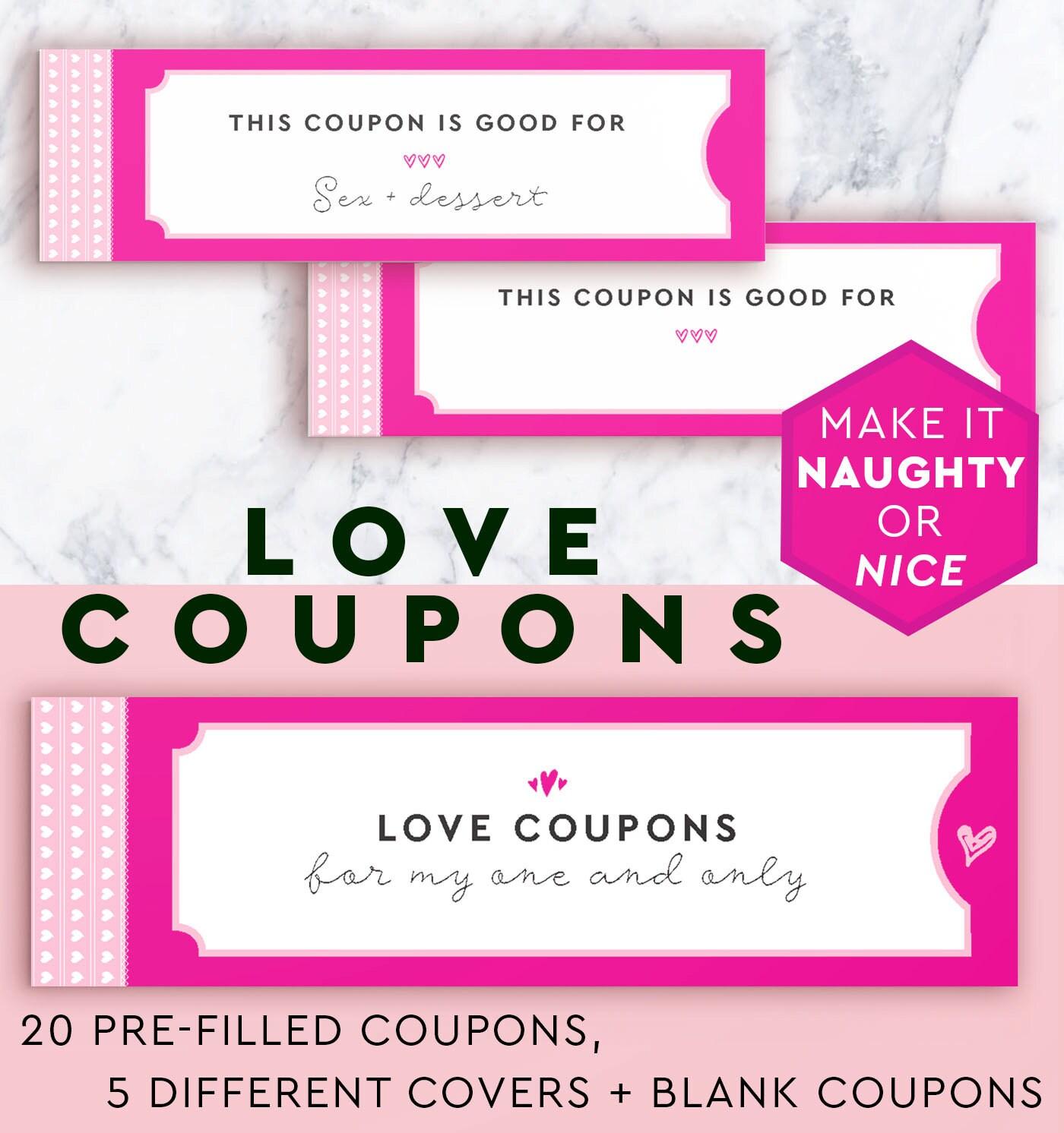 Sexy love coupon ideas