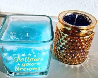 Sweet Dreams Patchouli/Sandalwood Candle Set