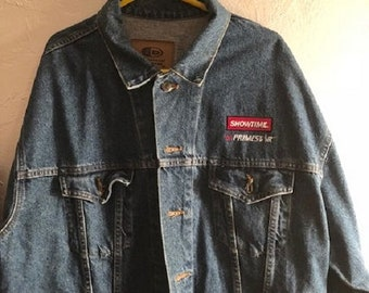 International Denim Vintage XL Jacket wtih Showtime on Primestar