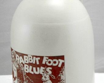 rabbit foot jug moonshine whiskey handmade