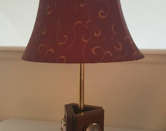 Accent lamp with weather station