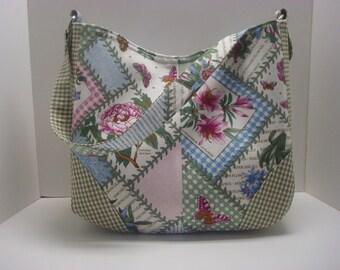 Pretty cotton purse