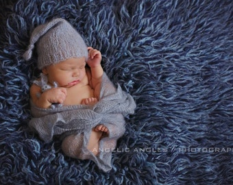 ... mohair sleep cap knitting pattern instant download pdf baby hat newborn  photo prop knit mohair hat bb2b7e8bc