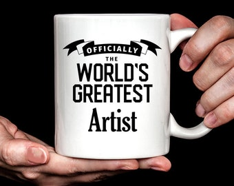 Artist Gift | Artist Mug | Gift for Artist | World's Greatest Artist Coffee Mug