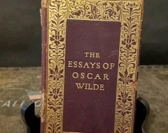 The Essays of Oscar Wilde