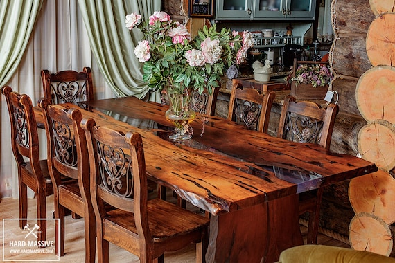 Items Similar To Live Edge Table Dining Wood