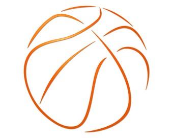 SVG basketball, svg files for cricut, files for silhouette, clipart, cut files, cricut designs, silhouette designs, svg monogram, svg fonts