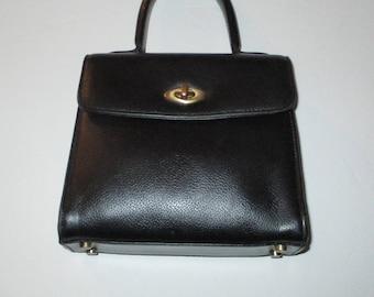 Coach Vintage Madison Gracie Collector Black Bag Purse Dust Bag #4413.