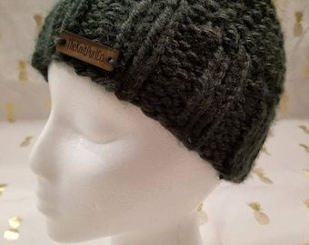 The MILLIE Beanie (Forest)