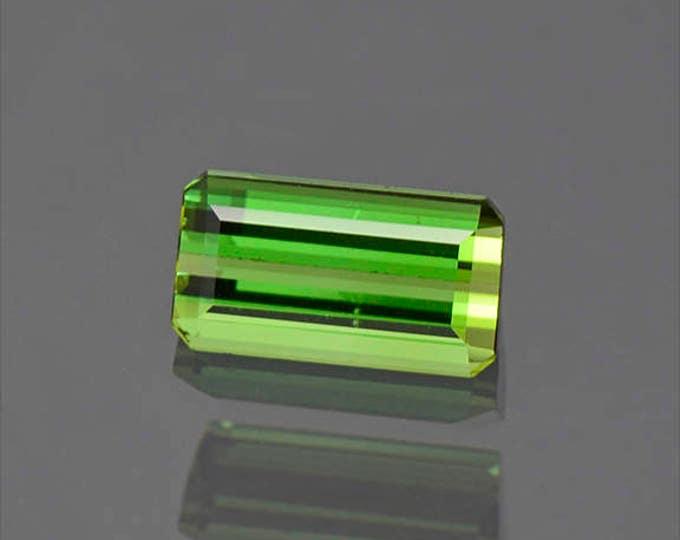 Lovely Vivid Green Brazilian Tourmaline Gemstone 1.45 cts.