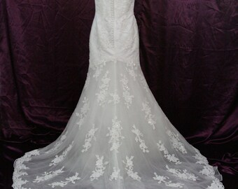 Alfred Angelo ALL Lace wedding dress size 6