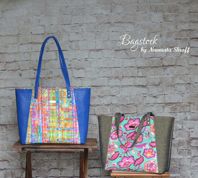 Tote bagstock sewing pattern pdf sewing pattern zoom jeuxipadfo Choice Image