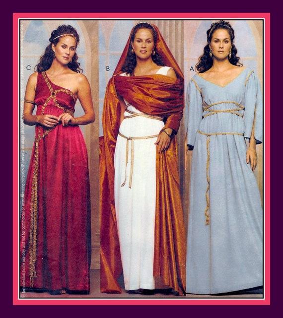 STUNNING GODDESS GOWNS-Sewing Pattern-Greek-Roman