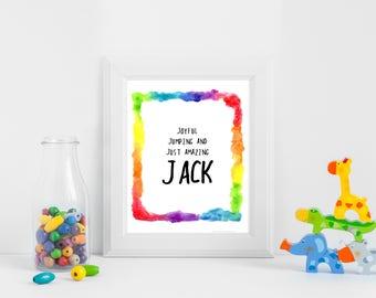 Jack Name Printable
