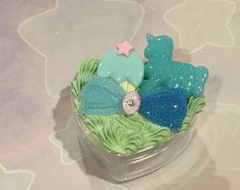 Blue Unicorn Decoden Box