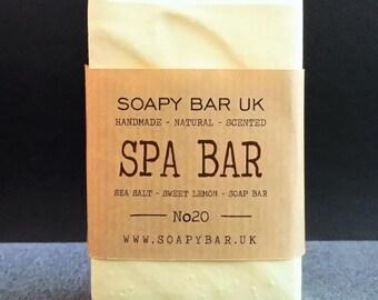 No20. Sweet Lemon 'SPA BAR' Handmade Soap