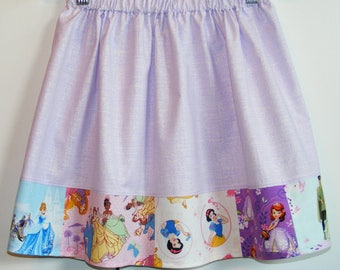 Disney Princesses skirt   size 7