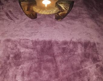 Handcrafted decorative candle centerpiece