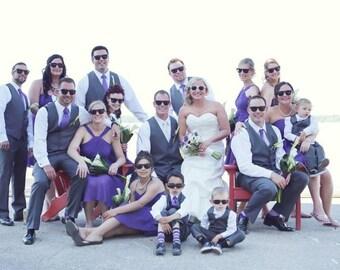 Wedding Party Sunglasses Set of 6 Groom Sunglasses Best Man