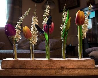 Handmade Flower Display Stand/Test Tube Flower Holder