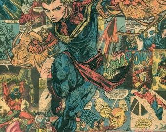 Carol Danvers Captain Marvel Giclee Print