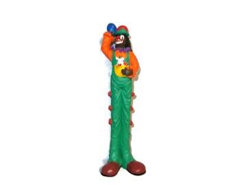Clown Figurine | Resin Clown Figurine |Clown | Clowns |Vintage Clown |Vintage Clowns |Clown Figurines | Collectible Clowns |VintageByBaskett