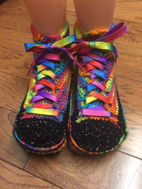 converse converse inspired tennis bling slippers converse rainbow Converse top 8 high shoes slippers converse custom 6 womens sneaker 417 1vn0wqx