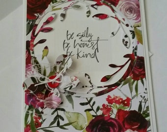 Inspirational Card. Handmade Card. Graduation. Just Because. Thinking of You. For Her.  Encouragement. Friendship. Congratulations.