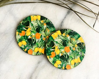 Orange n' Lemon- coasters