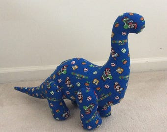 Designer Dinosaurs - Brilliant Brontosaurus - Mario